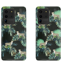 Чехол Kingxbar Spring для Galaxy S20 Ultra Green Leopard